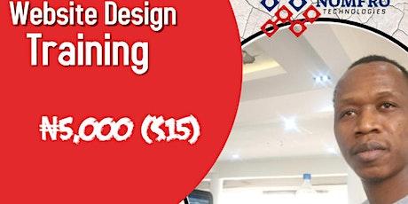 Website Design Training tickets
