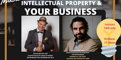 MasterClass: Intellectual Property & Your Business tickets