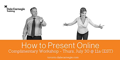 How to Present Online - Live Online tickets