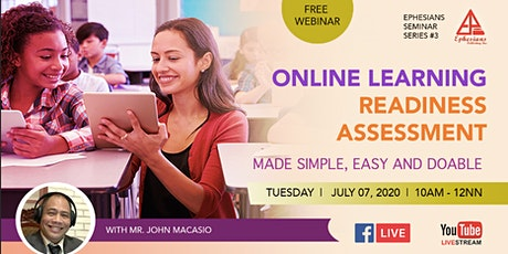 ONLINE LEARNING READINESS ASSESSMENT Made Simple, Easy and Doable tickets