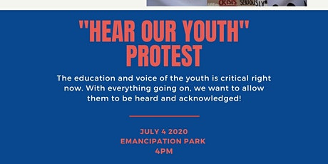 Hear Our Youth Protest tickets