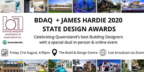 2020 BDAQ + James Hardie State Design Awards tickets