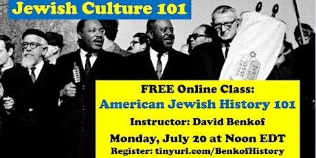 American Jewish History 101 tickets