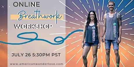 Online Breathwork Workshop tickets