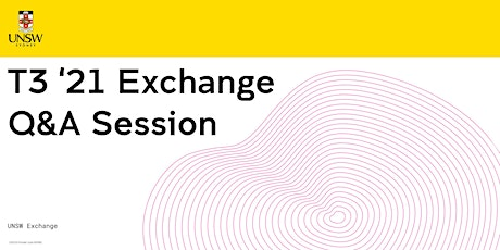 UNSW Exchange UK Q&A Session 27 July tickets