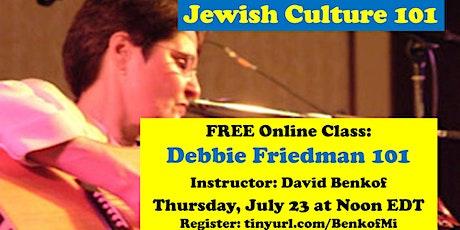 Debbie Friedman 101 tickets