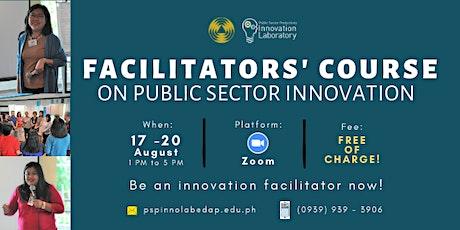 Facilitators' Course on Public Sector Innovation tickets