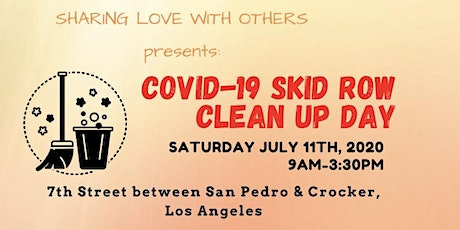 Covid-19 Skid Row Cleanup Day tickets