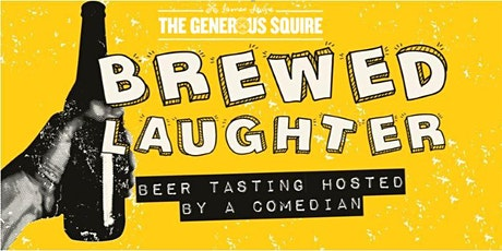 Brewed Laughter | Beer tasting with a comedian tickets