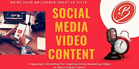 Bring Your Brilliance Creative Suite Video Workshops - Nexus Impact Center tickets