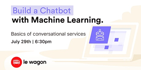 Build a Chatbot with Machine Learning tickets