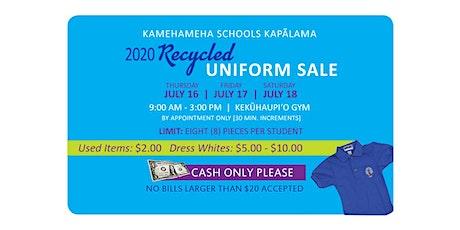 2020 KS Kapālama Recycled Uniform Sale tickets