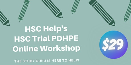 HSC PDHPE Trial Workshop - Online tickets