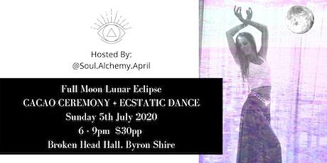 Lunar Eclipse Cacao Ceremony + Ecstatic Dance tickets