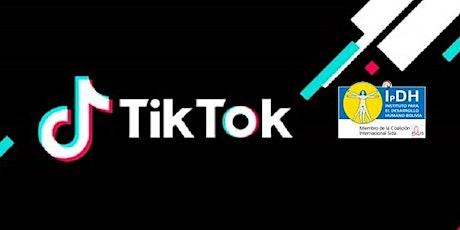 Concurso de  Sensibilización en TikTok tickets