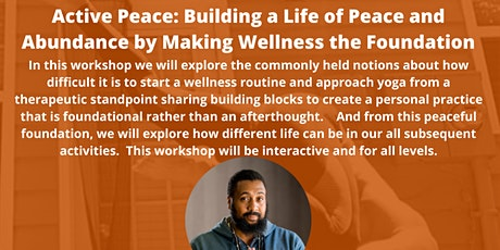 Self-Care Sundays: ACTIVE PEACE WORKSHOP tickets