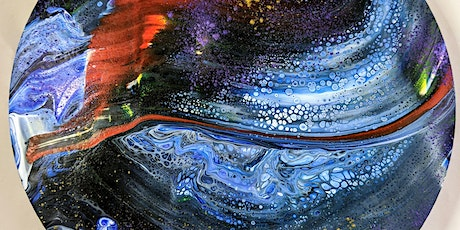 Acrylic Paint Pouring - 16th July Evening tickets