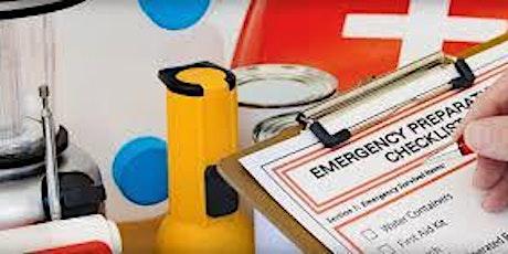 Home Disaster Preparedness Class tickets
