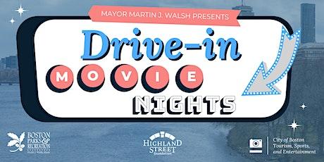 City of Boston Drive-in Movie Series: MOANA tickets