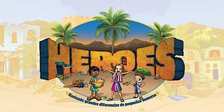 Heroes Escuela Biblica de Verano (EBV)  Virtual entradas