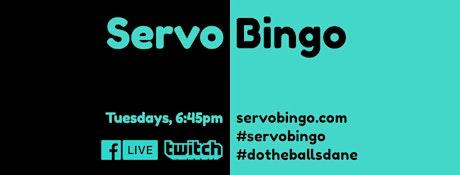 ServoBingo LIVE tickets