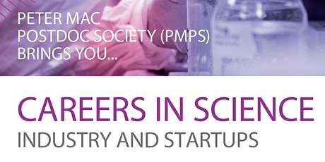 Careers in Science: Industry and Startups tickets