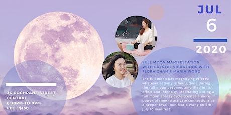 Crystal Vibration Full Moon Meditation tickets