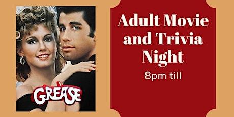 Movie and Trivia Night tickets
