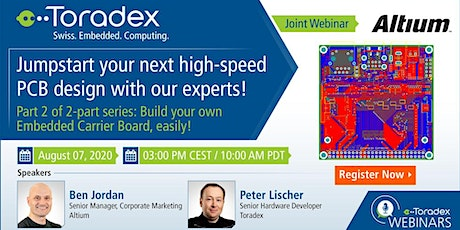 Webinar: Jumpstart your next high-speed PCB design with our experts! tickets