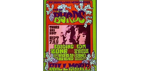 Rocking in the Fillmore with Bill Graham tickets