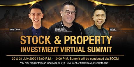 STOCK & PROPERTY INVESTMENT VIRTUAL SUMMIT tickets