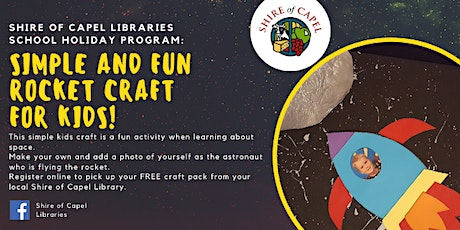 Rocket Ship Craft Workshop | Dalyellup Library tickets