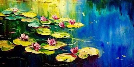 Monet's Waterlilies - Plucka's Art Studio (Oct 18 1.30pm) tickets