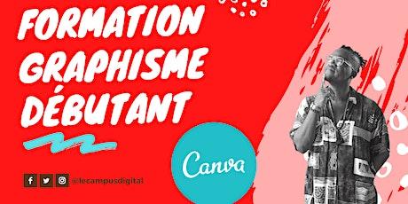 Formation CANVA : Créez simplement vos propres graphismes (Durée :2h) tickets