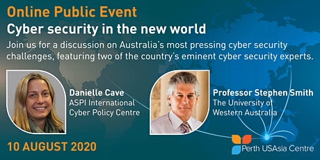 Cyber security in the new world tickets