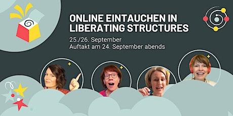Online eintauchen in Liberating Structures: Virtueller Immersion Workshop tickets