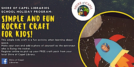 Rocket Craft Workshop | Capel Library tickets