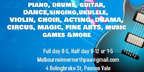 July School Holidays Music Program tickets