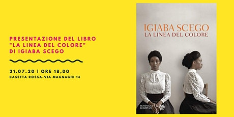 """Presentazione del libro """"La linea del colore"""" di Igiaba Scego biglietti"""