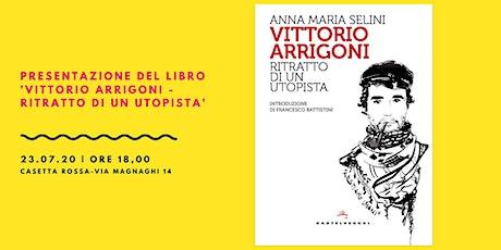"""Presentazione di """"Vittorio Arrigoni, ritratto di un utopista"""" biglietti"""