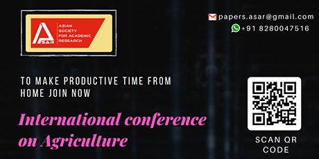 International Conference on Agriculture tickets