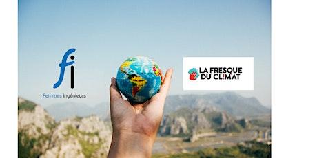Atelier La Fresque du Climat pour les Femmes Ingénieurs Pays de la Loire billets