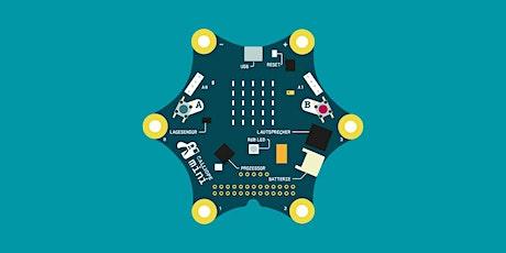 *AUSGEBUCHT* Microcontroller: Creative Coding mit Calliope Tickets