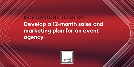 Develop a 12-month sales and marketing plan for an event agency tickets