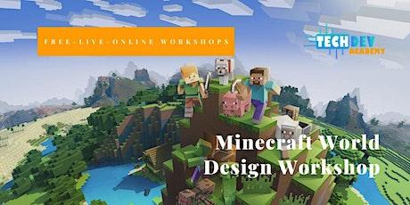 Minecraft World Design Workshop tickets