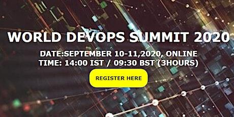World DevOps Summit 2020 tickets