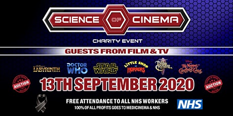 SCIENCE OF CINEMA CHARITY EVENT tickets
