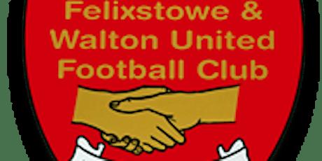 Bar Admission- Felixstowe & Walton United FC- Sunday 12th July tickets