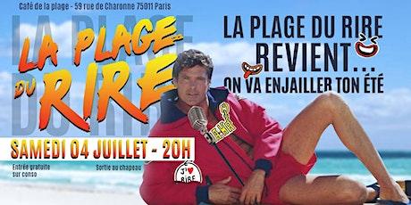 La Plage Du Rire Le Grand Retour ! billets