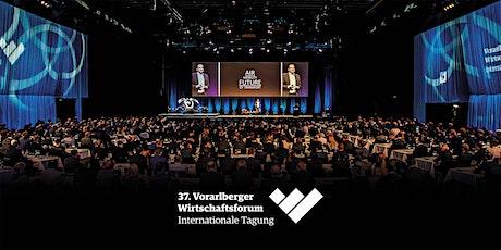 37. Vorarlberger Wirtschaftsforum Digital Edition 2020 Tickets
